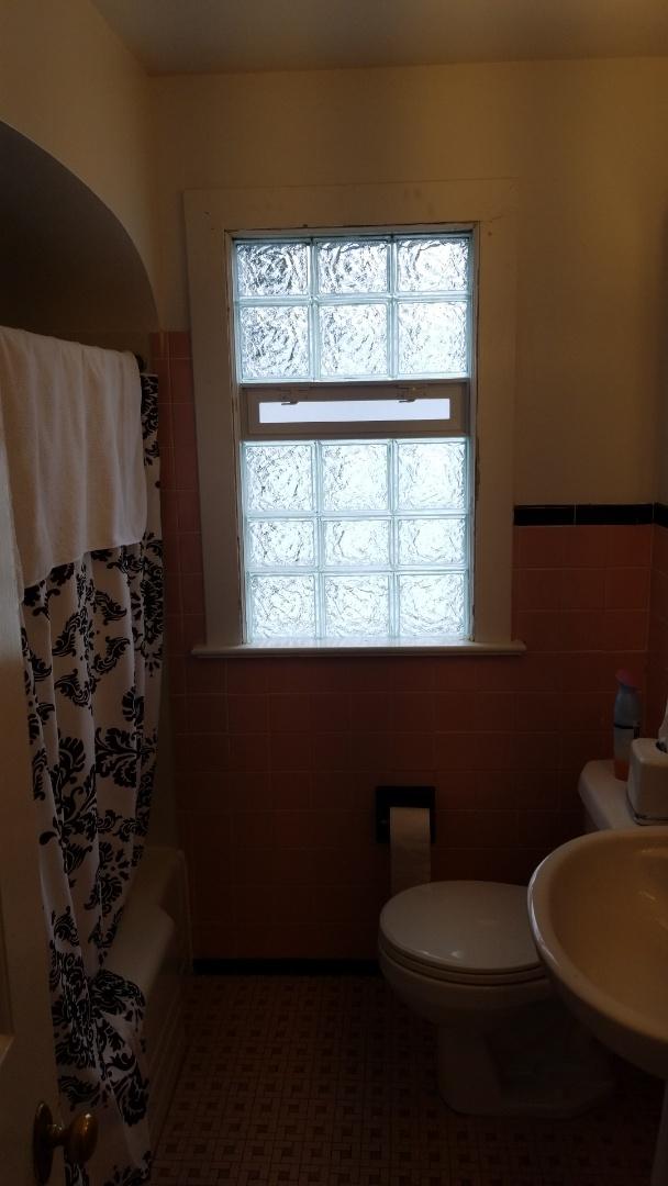 Grand Rapids, MI - Replace 2 old bathroom windows with new glass block windows