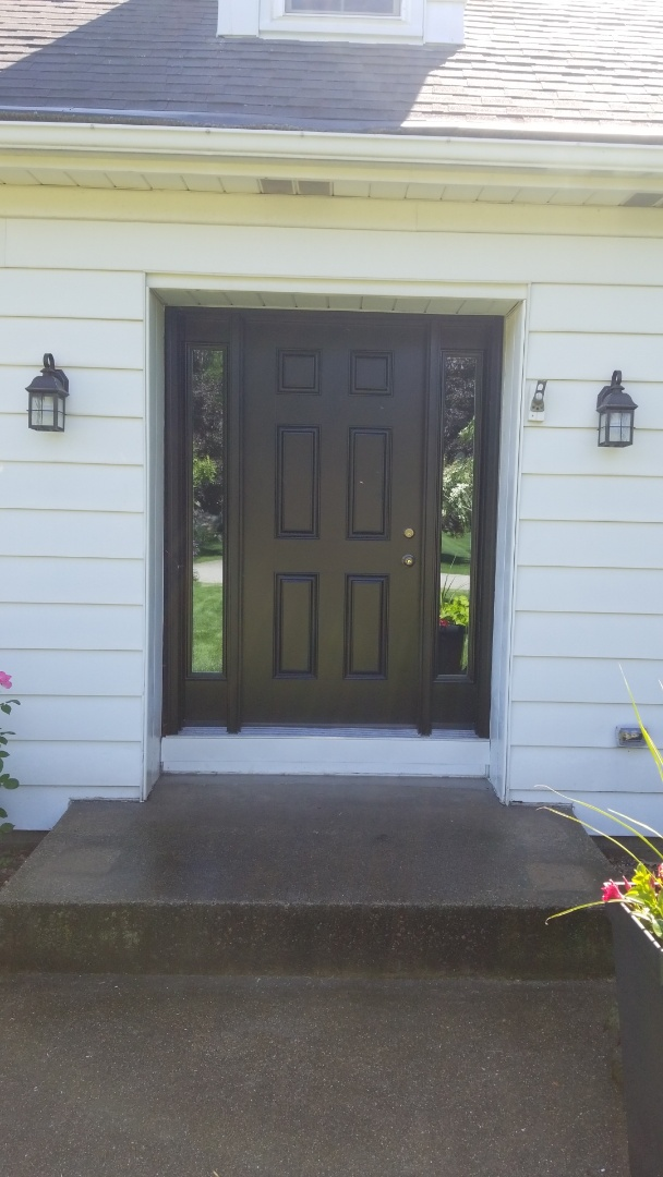 Holland, MI - Install new entry door with sidelights
