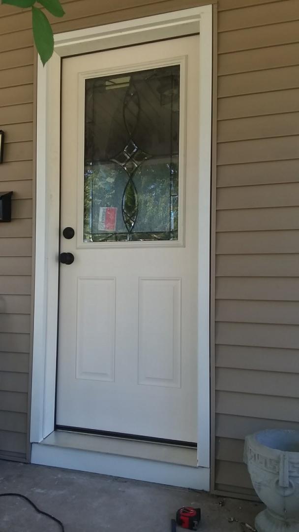 Holland, MI - Entry door with wrap!