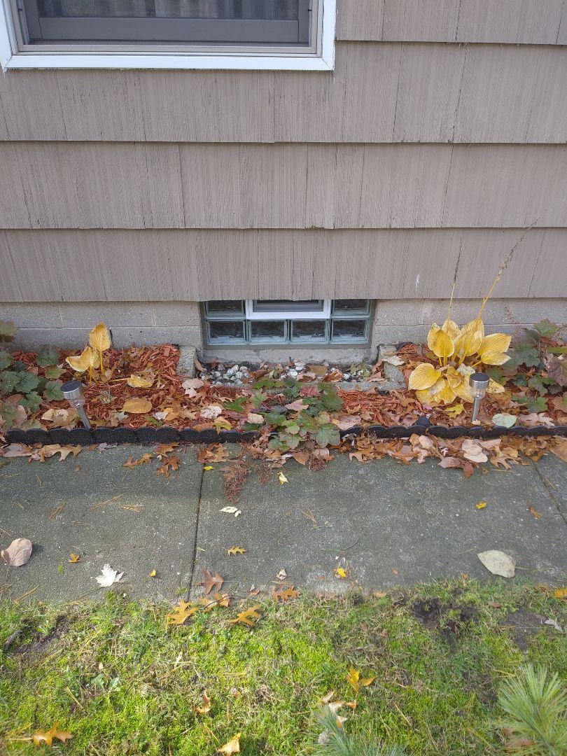 Muskegon, MI - Installed energy efficient glass block basement windows