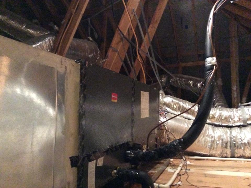 Montgomery, TX - Goodman air handler replace ECM motor
