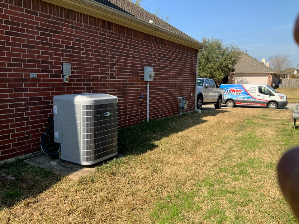 Spring, TX - Carrier variable speed air conditioning installation spring Texas
