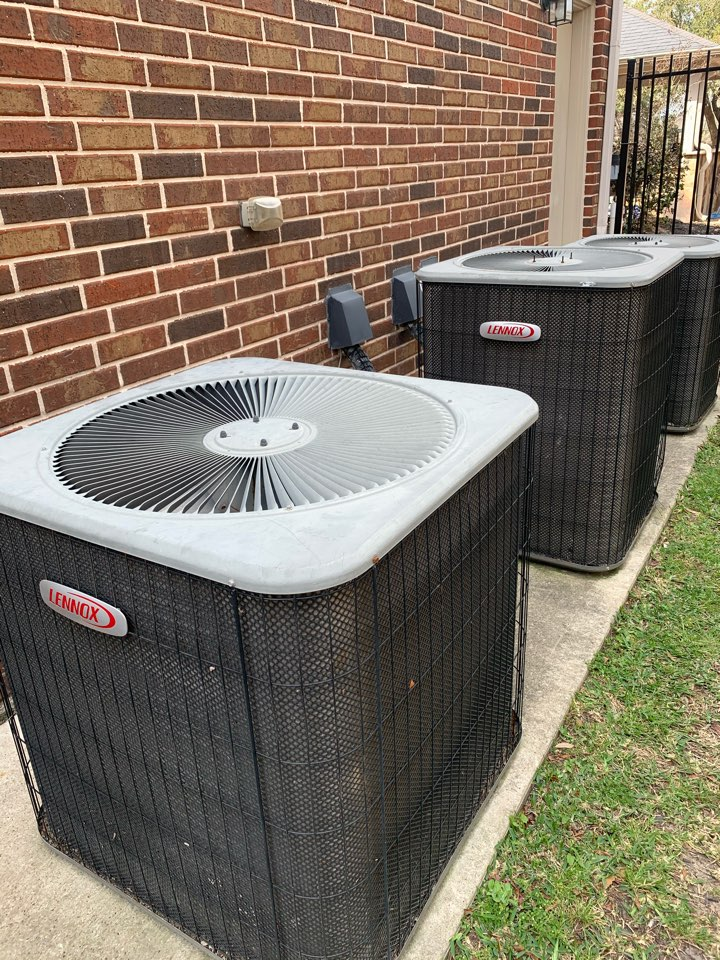 The Woodlands, TX - 3 A/C checks on some Lennox systems