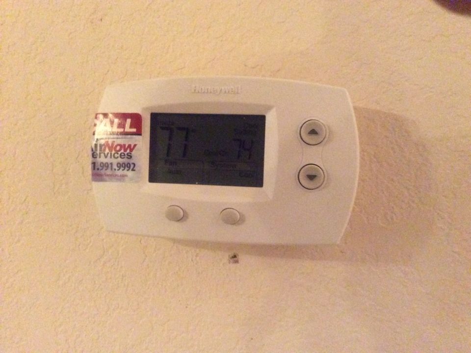 Montgomery, TX - Honeywell thermostat,replacement