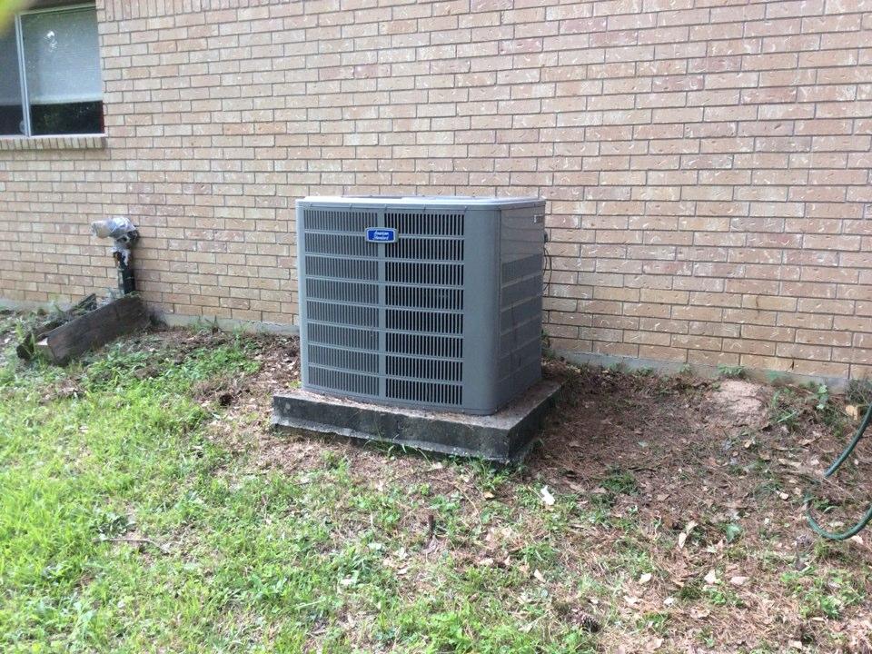 Magnolia, TX - Repair american standard air conditioner replaced fan motor