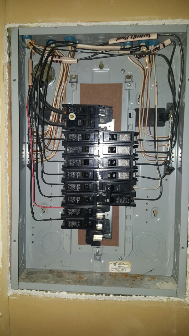Minneapolis, MN - Replaced defective dimmer switch in kitchen. I inspected the electrical panel for issues. Everything looked good in panel.