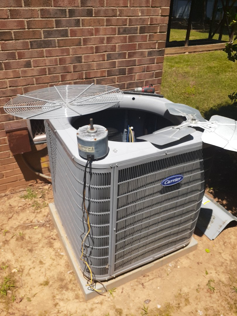 Mint Hill, NC - Doing what we do best , some expert air conditioning service in the Mint Hill area.