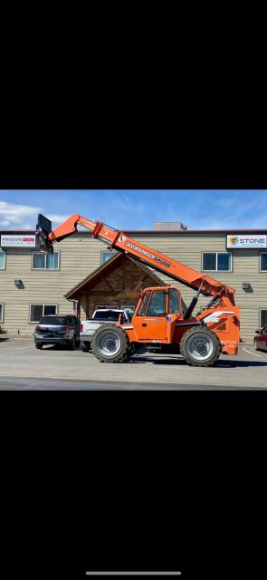 Medford, OR - Look at our new piece of equipment to help get materials up to all types of different roof's!