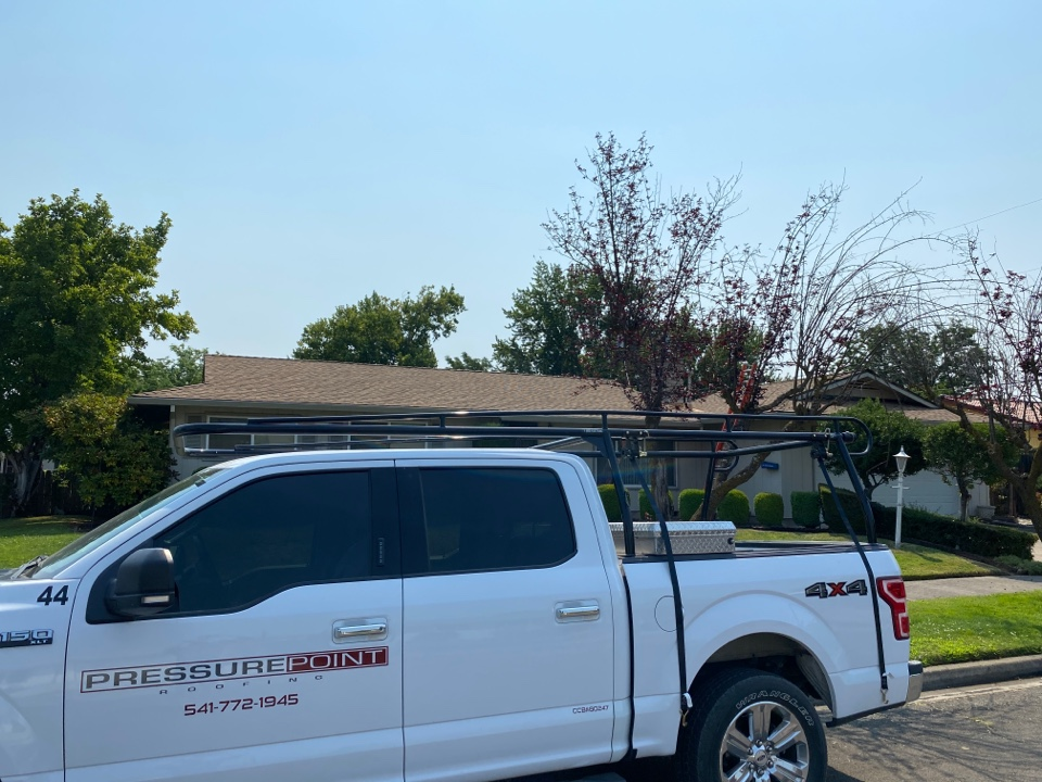 Medford, OR - Roof Inspection time for a recent customer of ours.