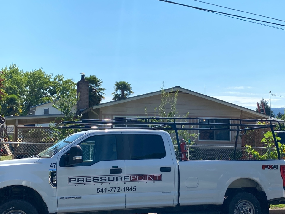 Grants Pass, OR - Roof inspection for a recent customer.