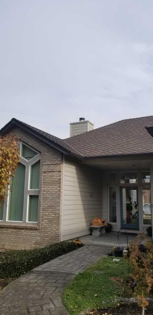 Medford, OR - Replacing the wood siding with new Allura siding.