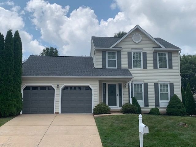 Bel Air, MD - Beautiful new roof replacement using New GAF Timberline HDZ shingles in Pewter Grey!