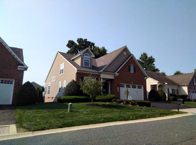 Havre de Grace, MD - Just replaced this roof in Bulle Rock using CertainTeed Landmark Weathered Wood shingles, giving the homeowner some peace of mind that he won't have any more roof leak issues. #BulleRock
