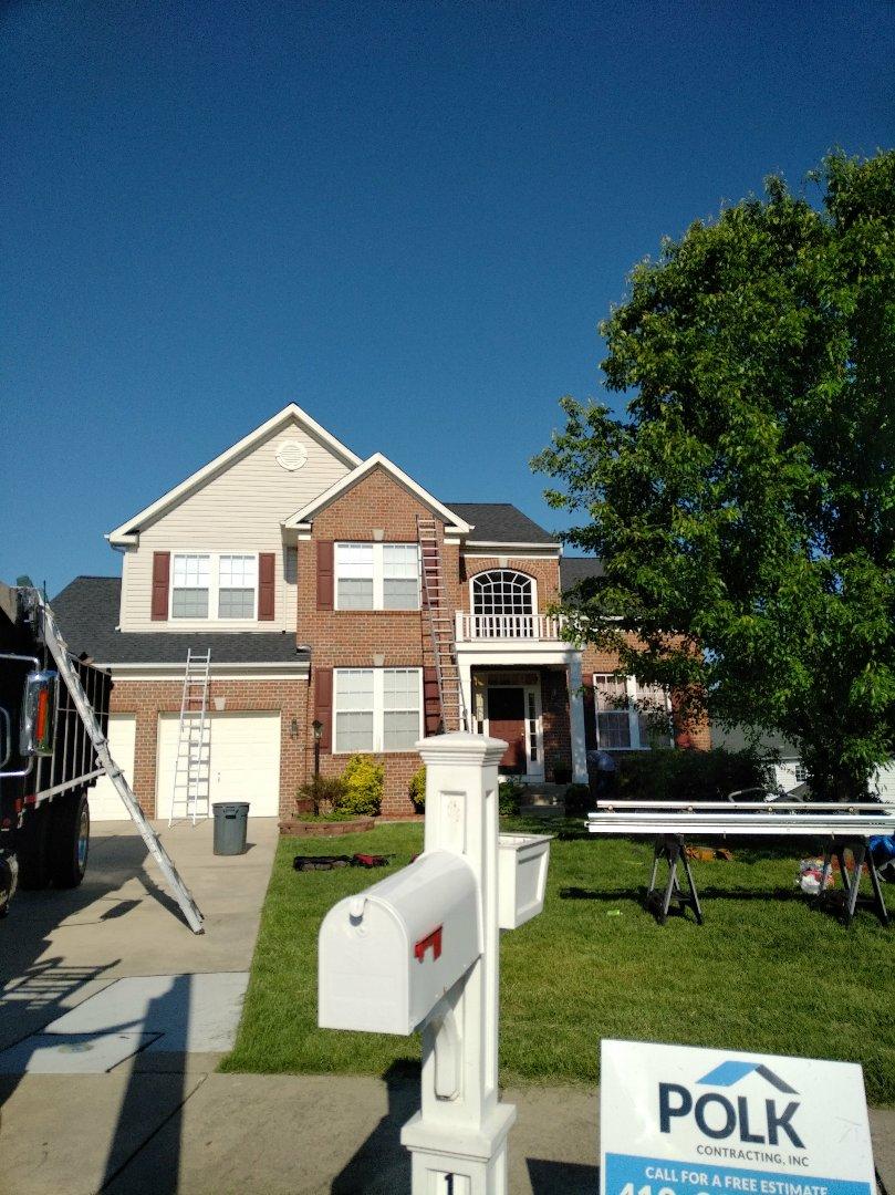 Bel Air, MD - Roof replacement, Certainteed Landmark Moire Black