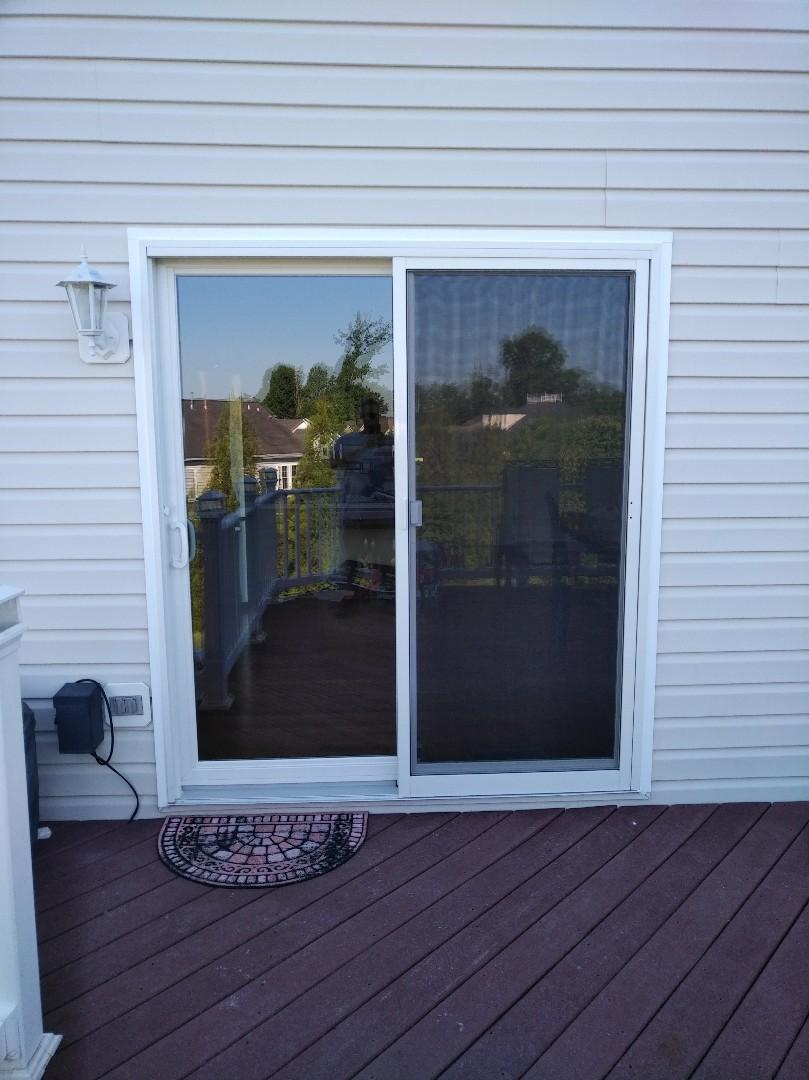 Bel Air, MD - Replacing sliding glass door