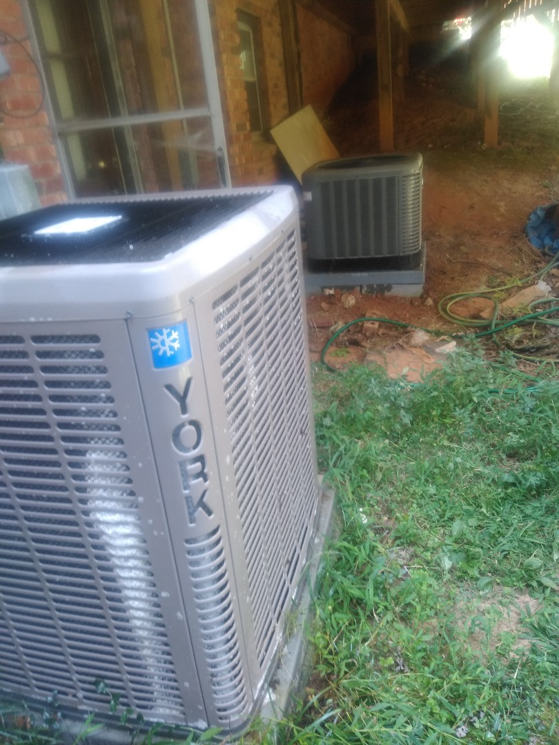 Conover, NC - Performing scheduled maintenance for a maintenance plus program customer in the north conover area