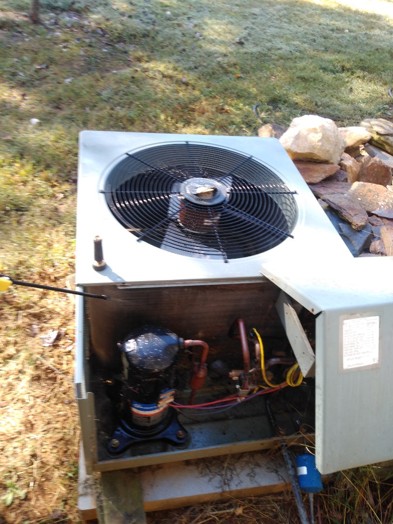 Township of Taylorsville, NC - Performing scheduled maintenance for a maintenance plus program customer in Taylorsville