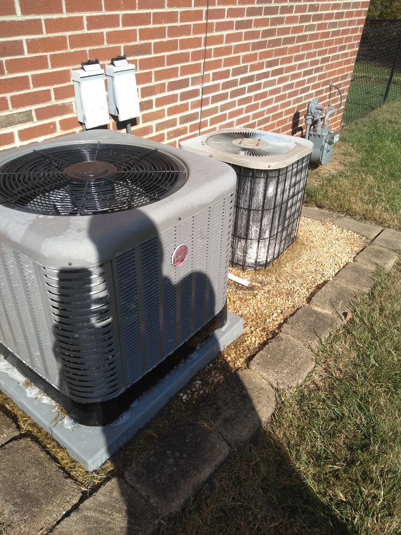 Hickory, NC - Performing scheduled maintenance for a maintenance plus program customer in Northeast Hickory