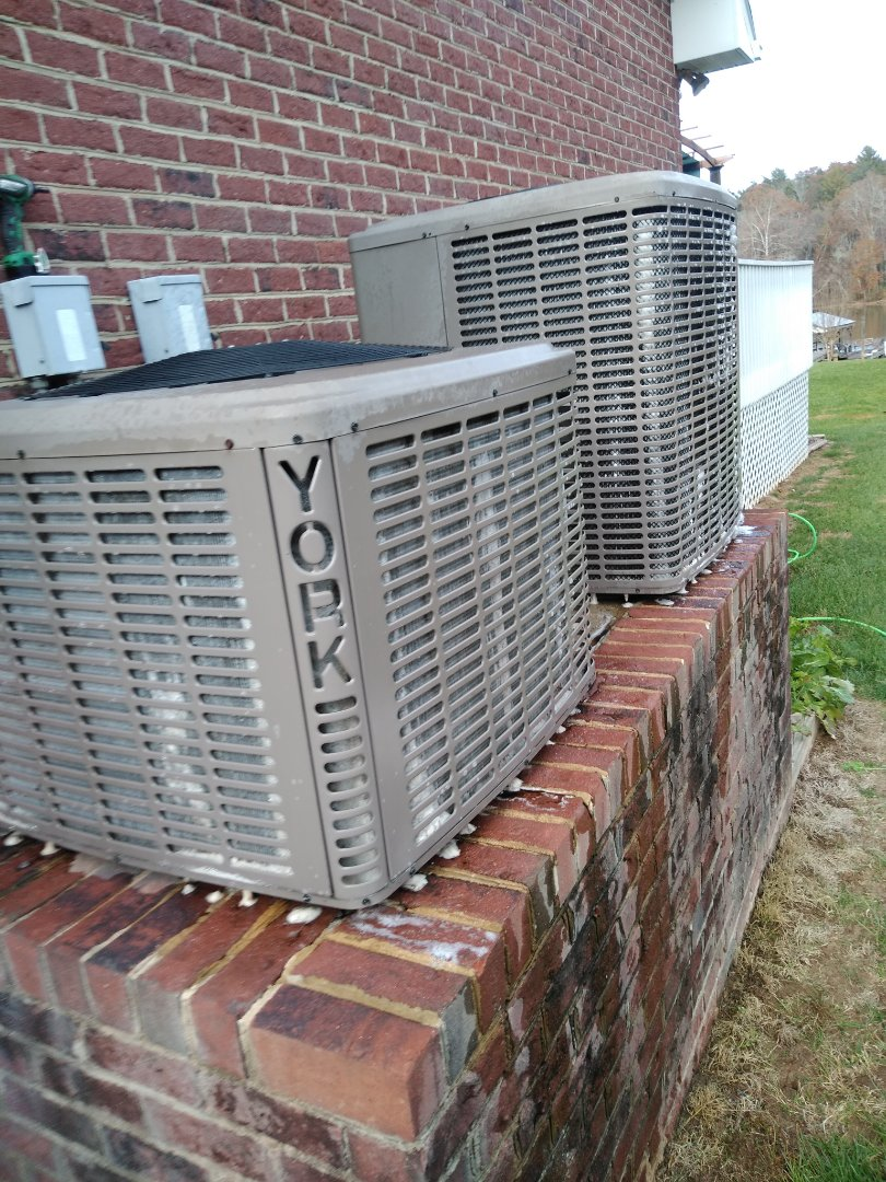 Hickory, NC - Performing scheduled maintenance for a maintenance plus program customer in Burke county