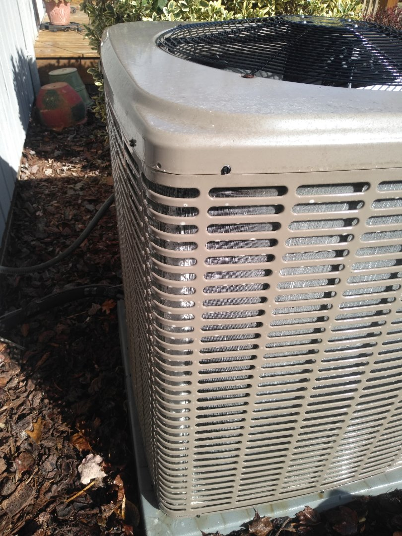 Hickory, NC - Performing scheduled maintenance for a maintenance plus program customer in mountain view section of Hickory