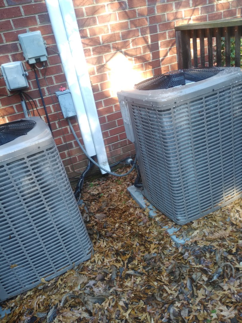 Hickory, NC - Performing scheduled maintenance for a plus program customer in Northwest Hickory