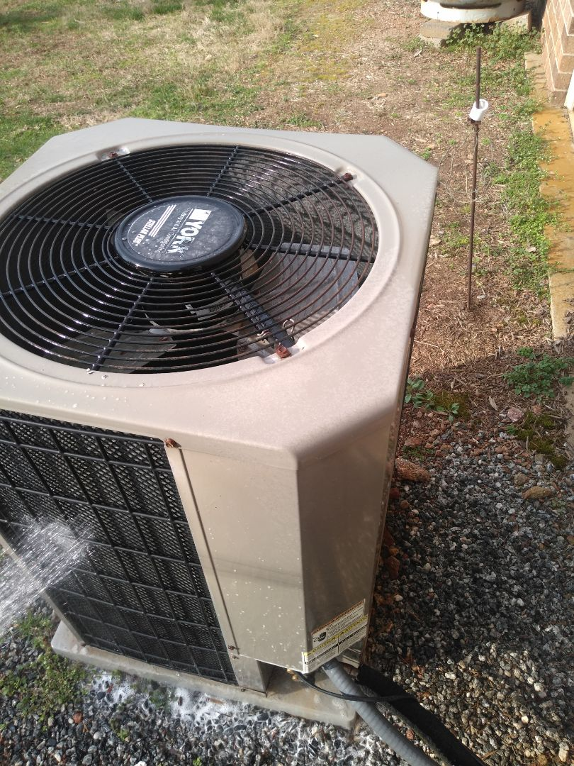 Hickory, NC - Performing scheduled maintenance for a maintenance plus program customer in the east Caldwell