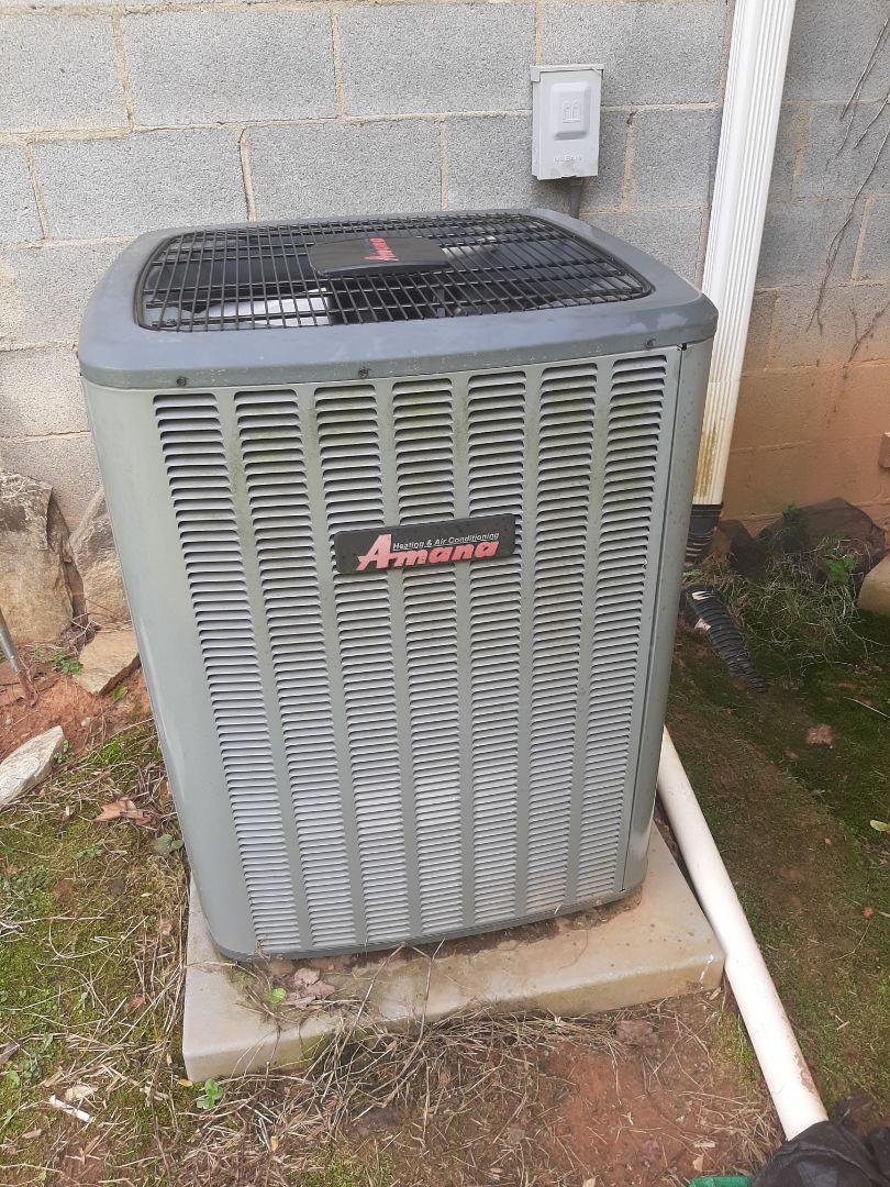 Newton, NC - Service call , no cooling