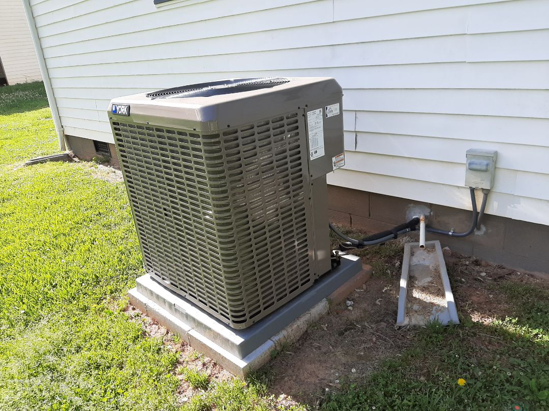 Granite Falls, NC - Follow up after newly installed heat pump