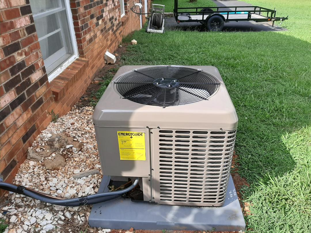Newton, NC - Follow up after newly installed air conditioner
