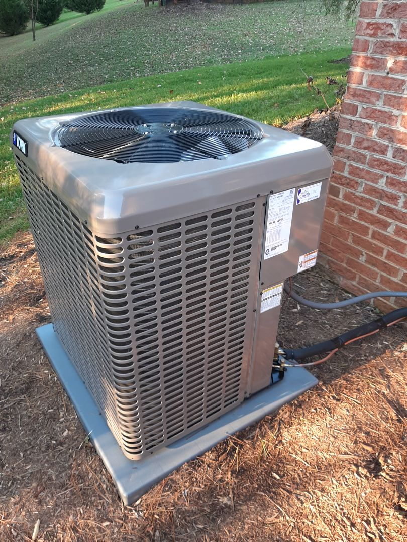 Hickory, NC - Follow up after newly installed heat pump