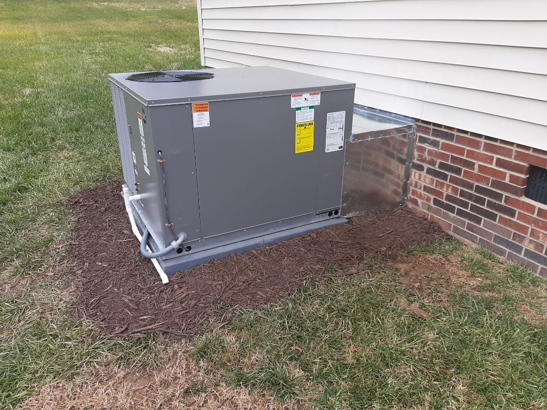 Hickory, NC - Follow-up on newly installed packaged heat pump