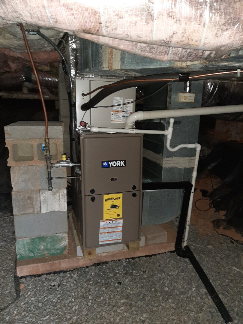 Morganton, NC - Installed new furnace and corrected return ductwork