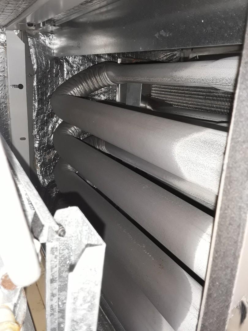Hickory, NC - Maintenance on gas furnace
