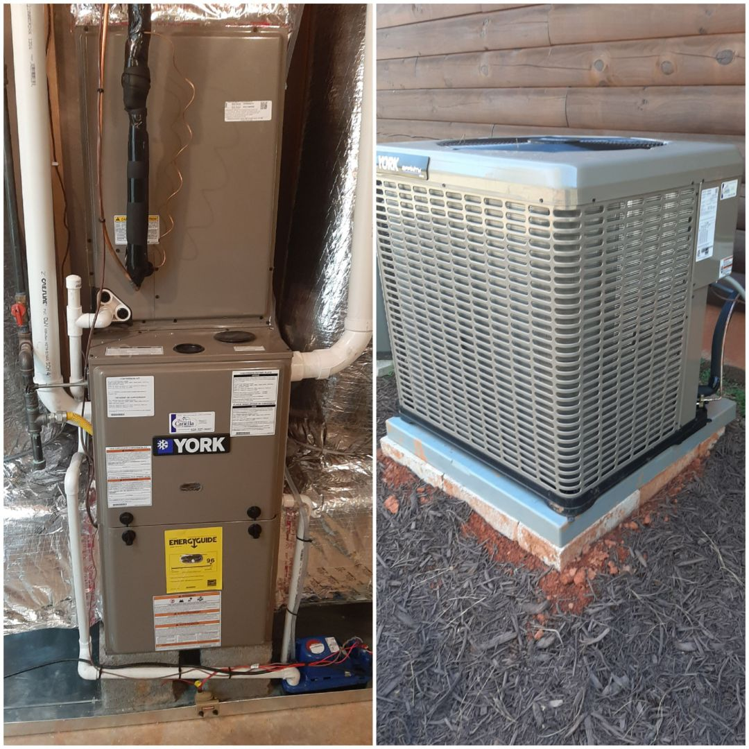 Conover, NC - Newly installed furnace and AC