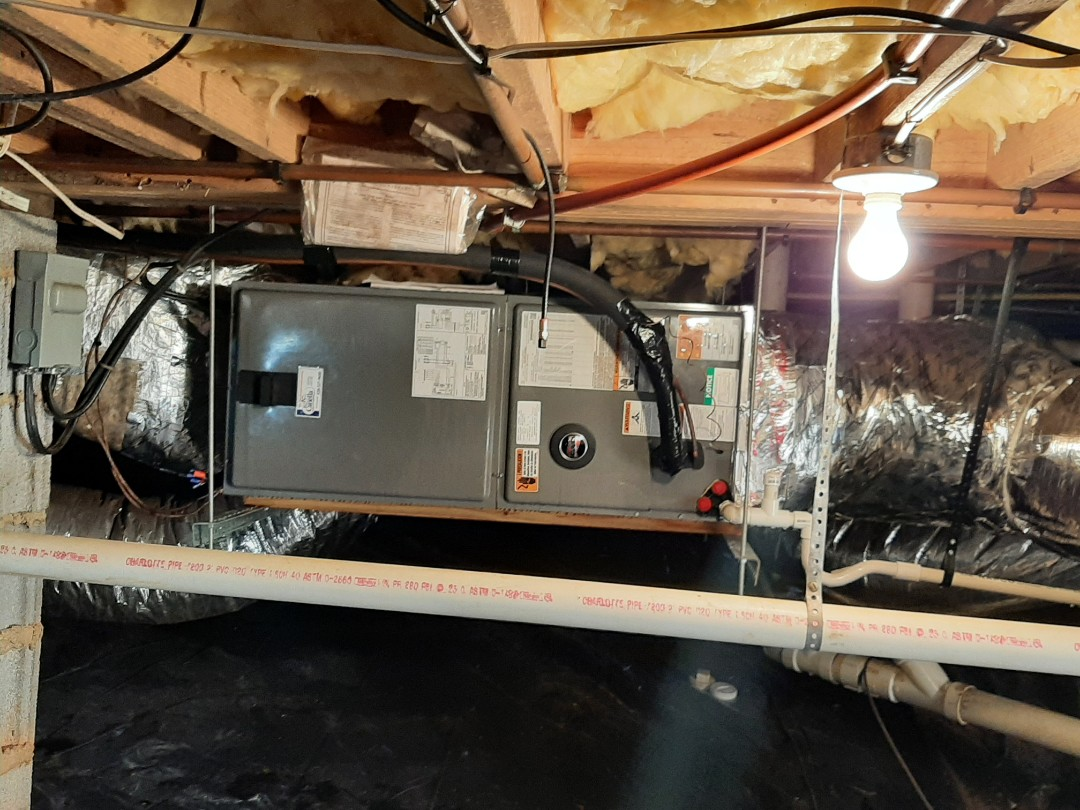 Hickory, NC - Newly installed heatpump