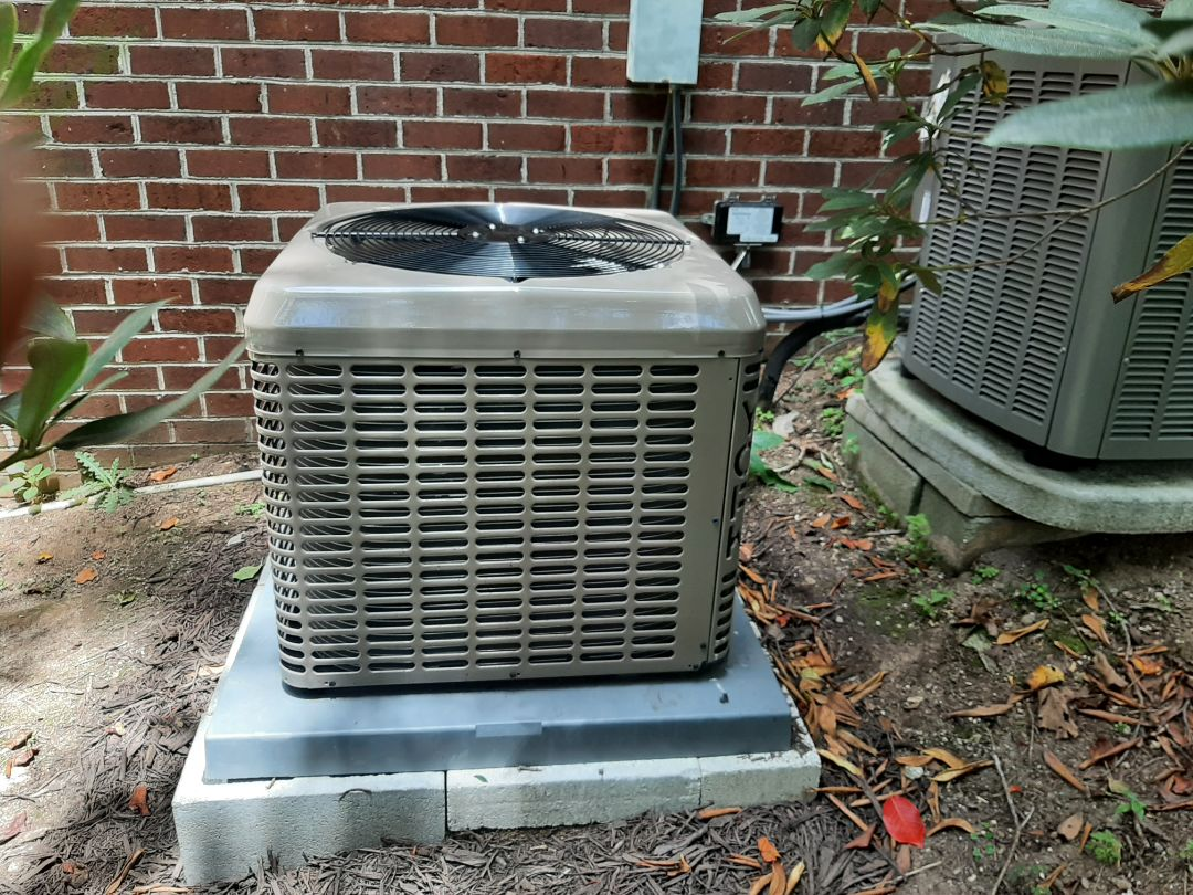 Newly installed Air conditioner