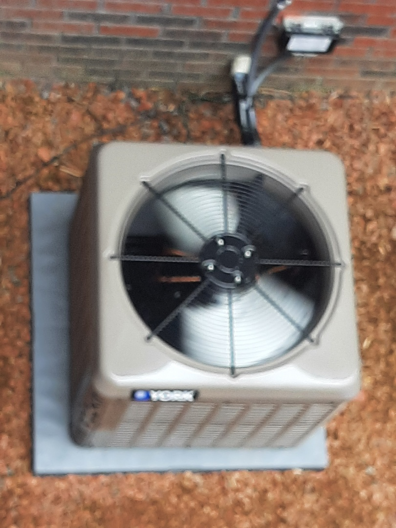 Newly installed air conditioning