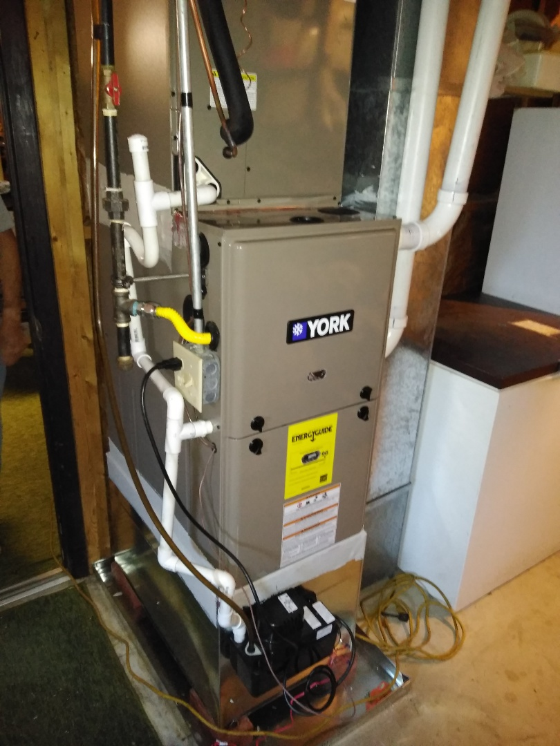 Conover, NC - Follow up on Gas Furnace/ A/C install
