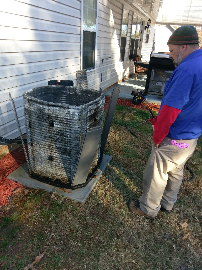 Conover, NC - Winter cleaning