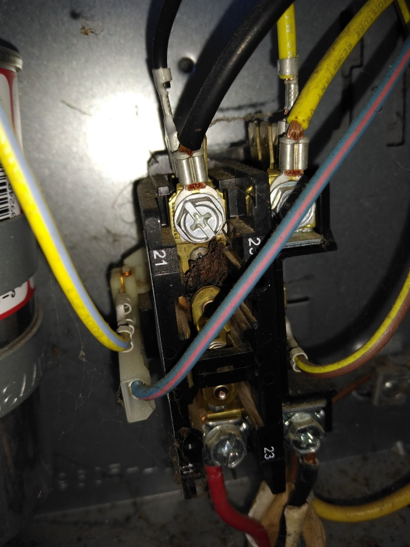 Conover, NC - Diagnosing a no heat call on a heat pump