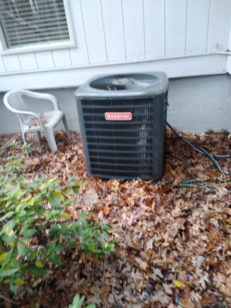 Performing scheduled maintenance for a maintenance party plus customer in the Northeast Hickory area