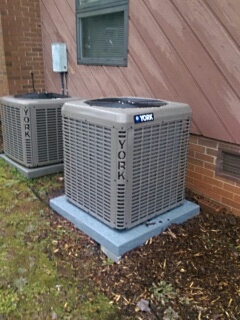 Conover, NC - Installation of a new heat pump in Conover