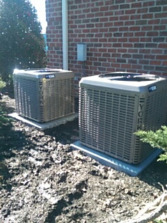 Hickory, NC - Installation of 2 new Air Conditioners and gas furnaces in Hickory