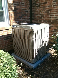 Maiden, NC - Installation of a new 5 stage heat pump in Maiden.