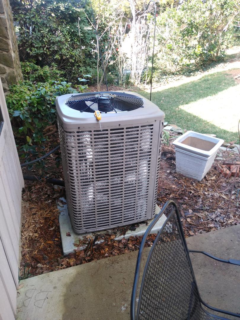 Conover, NC - Performing scheduled maintenance for maintenance priority plus customer Northeast Hickory