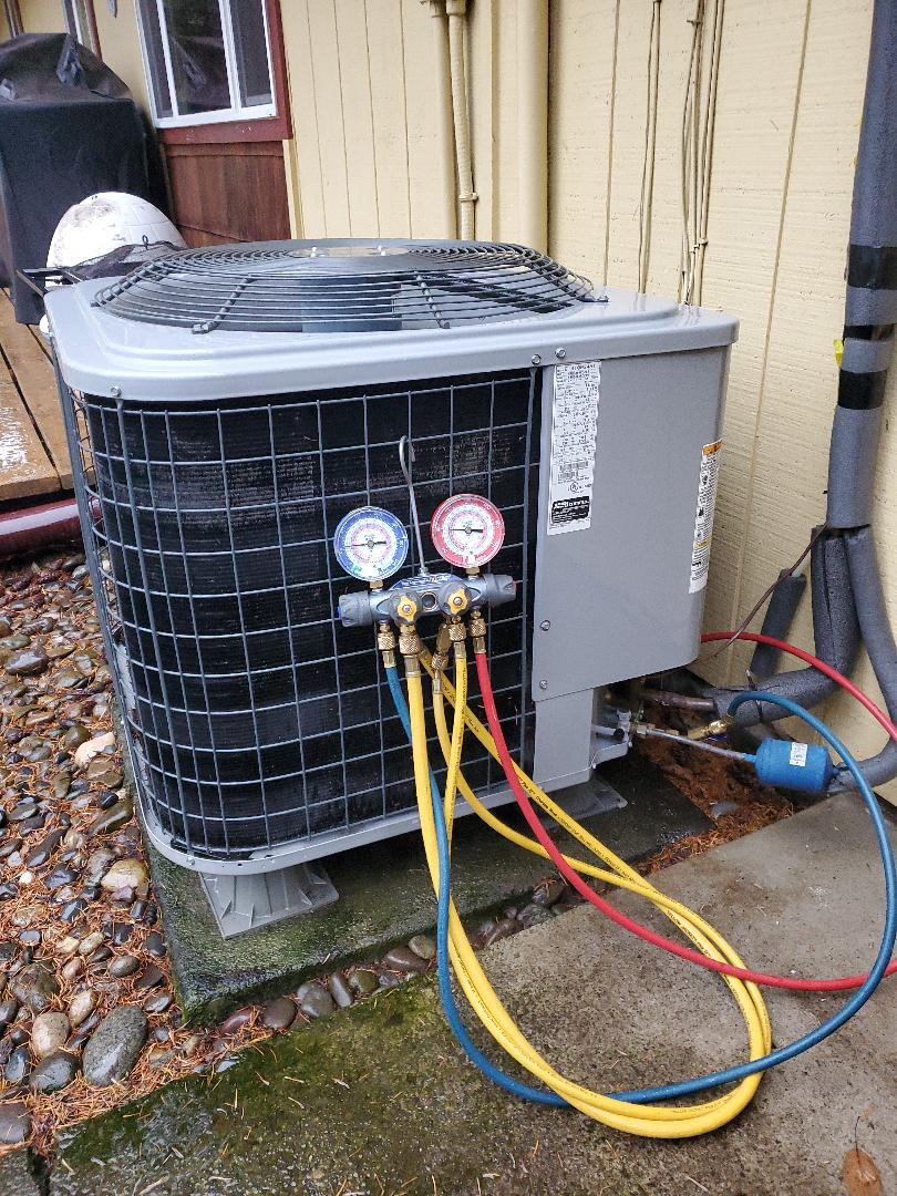 Vancouver, WA - Annual Service and cleaning on a heat pump
