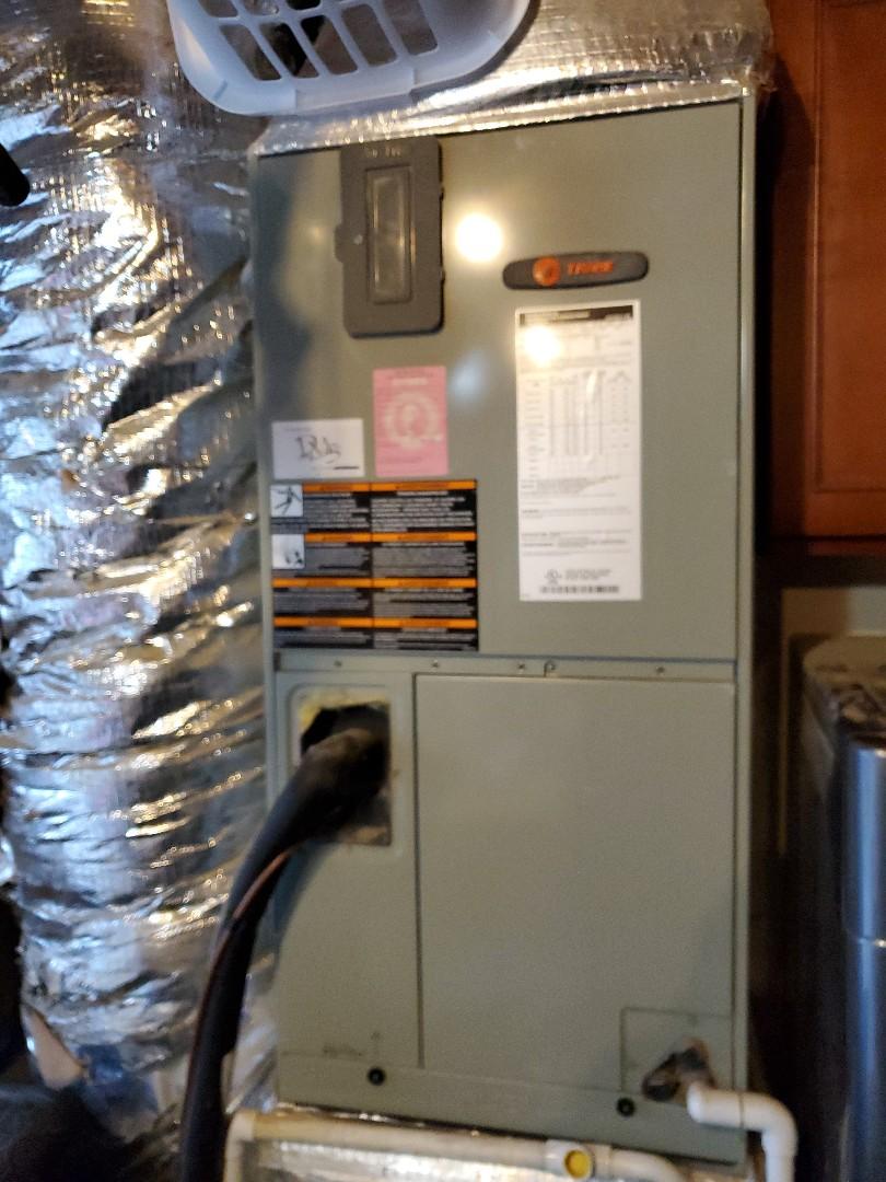 Kalama, WA - Diagnosis on call on air handler motor that had seized up. Replaced motor.