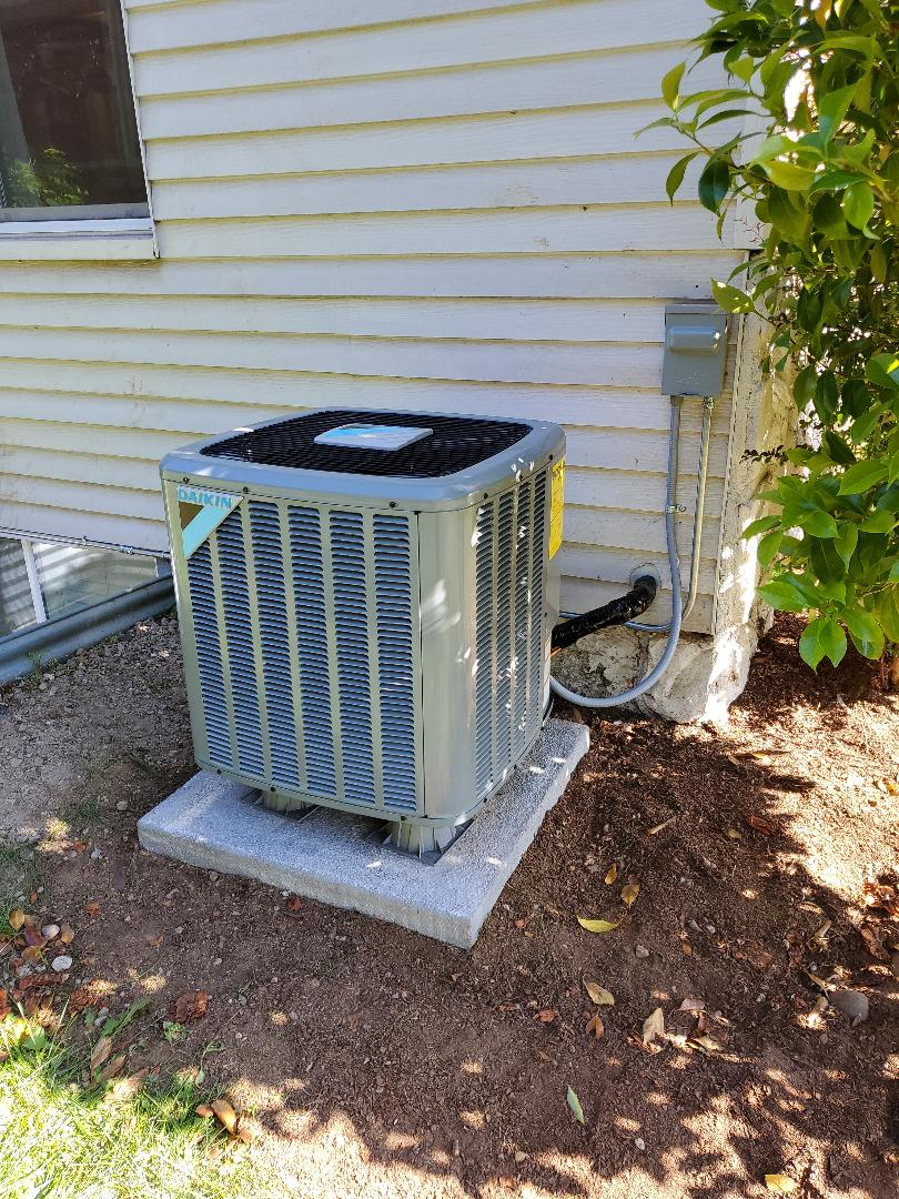 Vancouver, WA - Installed a daikin air conditioner.