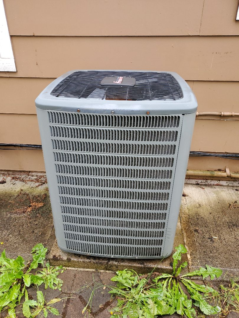 Performed a service and cleaning on an amana gas furnace and air conditioner. Comfort club annual maintenance agreement.