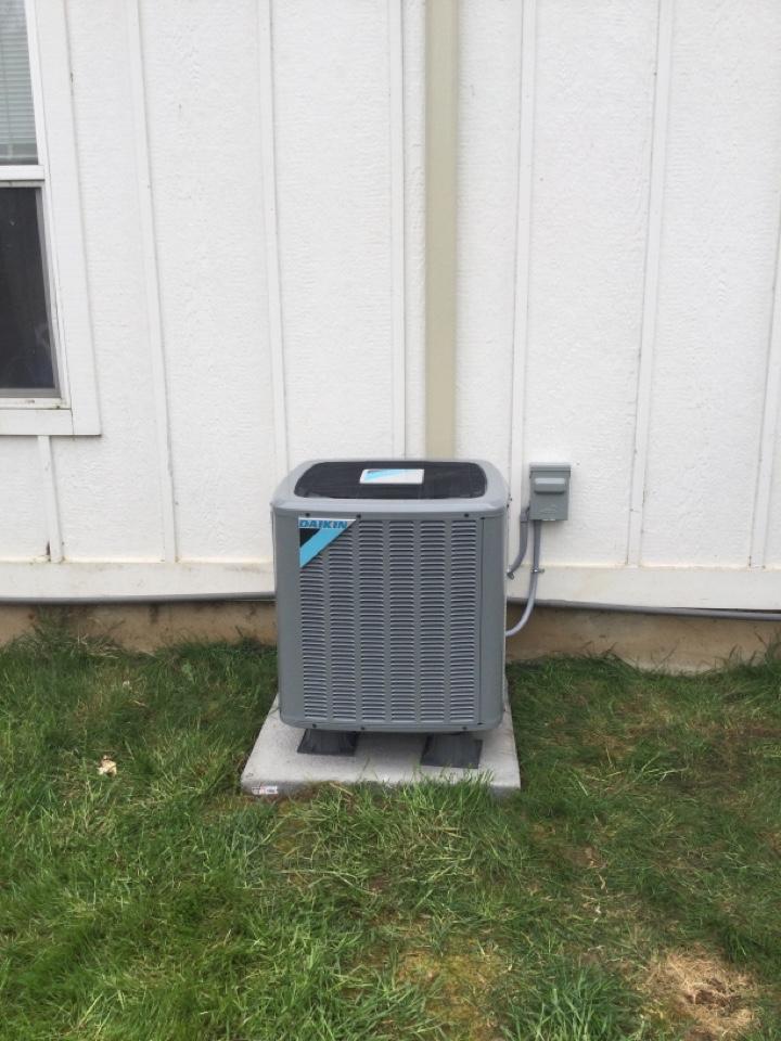 Ridgefield, WA - Installed a Daikin AC in Ridgefield, WA